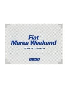 1996 FIAT MAREA WEEKEND INSTRUCTIEBOEKJE NEDERLANDS