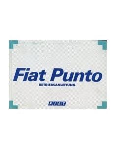 1997 FIAT PUNTO INSTRUCTIEBOEKJE DUITS