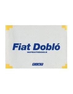 2001 FIAT DOBLO INSTRUCTIEBOEKJE NEDERLANDS