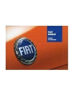 2006 FIAT DOBLO INSTRUCTIEBOEKJE FRANS