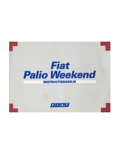 1999 FIAT PALIO WEEKEND INSTRUCTIEBOEKJE NEDERLANDS