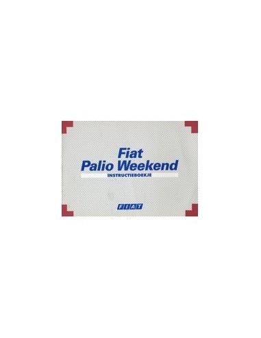 1999 fiat palio weekend owners manual handbook dutch rh autolit eu Fiat Palio Weekend 2013 Fiat Palio 1.6