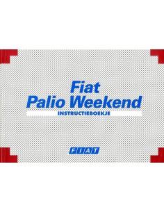 1997 FIAT PALIO WEEKEND INSTRUCTIEBOEKJE NEDERLANDS