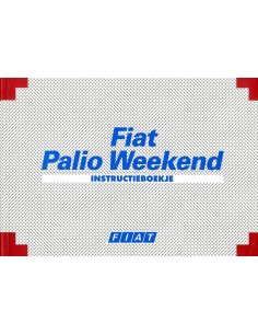 1997 FIAT PALIO WEEKEND INSTRUCTIEBOEKJE NEDERLANDS