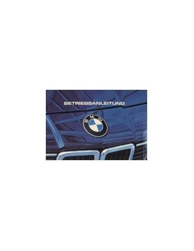 1983 BMW 7 SERIE INSTRUCTIEBOEKJE DUITS