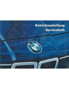 1985 BMW 7 SERIE INSTRUCTIEBOEKJE DUITS