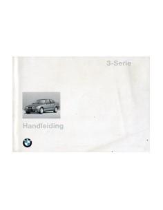 1996 BMW 3 SERIE INSTRUCTIEBOEKJE NEDERLANDS