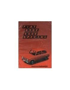 1971 FIAT 850E SPECIAL INSTRUCTIEBOEKJE NEDERLANDS