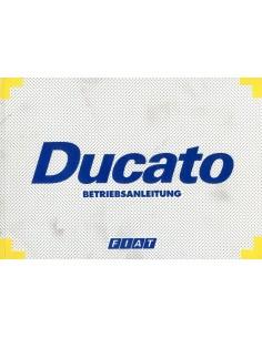 1994 FIAT DUCATO INSTRUCTIEBOEKJE DUITS