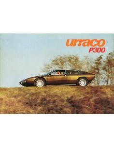 1975 LAMBORGHINI URACO P300 BROCHURE