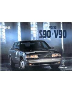 1998 VOLVO S90 & V90 INSTRUCTIEBOEKJE ENGELS