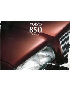1995 VOLVO 850 INSTRUCTIEBOEKJE NEDERLANDS