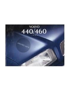 1995 VOLVO 440 460 INSTRUCTIEBOEKJE NEDERLANDS