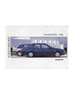1992 VOLVO 440 460 INSTRUCTIEBOEKJE NEDERLANDS