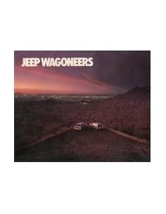 1986 JEEP WAGONEERS BROCHURE ENGELS