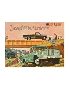 1962 JEEP GLADIATORS BROCHURE ENGELS