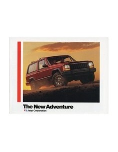 1984 JEEP PROGRAMMA BROCHURE ENGELS USA