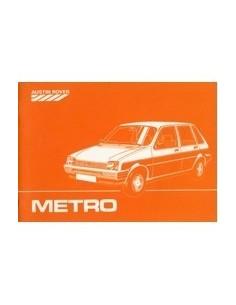 1984 AUSTIN METRO INSTRUCTIEBOEKJE NEDERLANDS