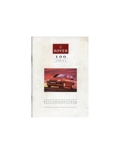 1991 ROVER 100 INSTRUCTIEBOEKJE DUITS