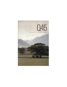 1990 INFINITI Q45 BROCHURE ENGELS USA