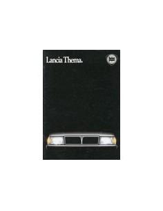 1985 LANCIA THEMA BROCHURE NEDERLANDS