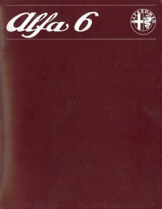 1979 ALFA ROMEO ALFA 6 BROCHURE NEDERLANDS