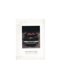 1994 INFINITI Q45 BROCHURE ENGELS USA