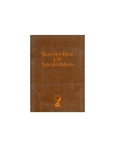 1974 MERCEDES BENZ PROGRAMMA PERSMAP ENGELS