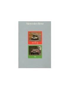 1975 MERCEDES BENZ E KLASSE BROCHURE NEDERLANDS