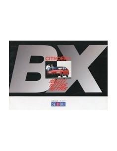 1986 CITROEN BX BROCHURE JAPANS