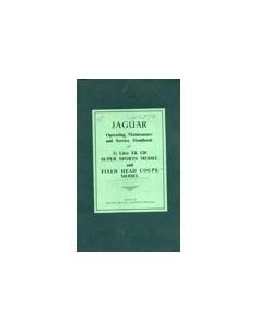 1951 JAGUAR 3.5 XK 120 INSTRUCTIEBOEKJE ENGELS