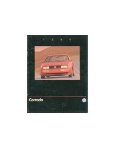 1990 VOLKSWAGEN CORRADO G60 BROCHURE ENGELS USA