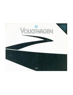 1991 VOLKSWAGEN PROGRAMMA BROCHURE ENGELS USA