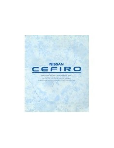 1991 NISSAN CEFIRO BROCHURE JAPANS