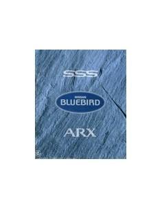 1992 NISSAN BLUEBIRD ASX BROCHURE JAPANS