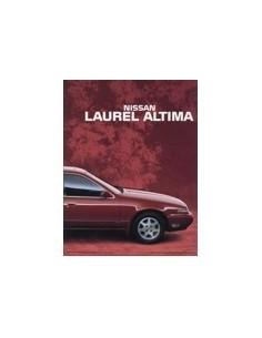1992 NISSAN LAUREL ALTIMA BROCHURE ENGELS ARABISCH