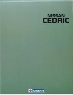 1990 NISSAN CEDRIC BROCHURE ENGELS ARABISCH