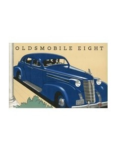 1936 OLDSMOBILE EIGHT BROCHURE ENGELS