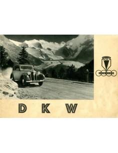 1937 DKW PROGRAMMA BROCHURE NEDERLANDS