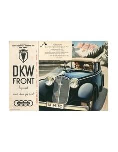 1935 DKW PROGRAMMA BROCHURE NEDERLANDS