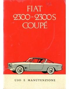1962 FIAT 2300 COUPE INSTRUCTIEBOEKJE ITALIAANS