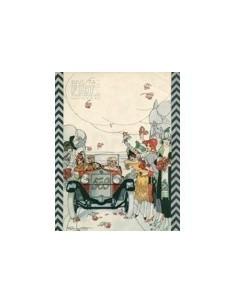 1925 FIAT 509 BROCHURE ITALIAANS