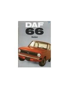 1973 DAF 66 SEDAN BROCHURE NEDERLANDS