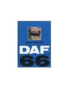 1973 DAF 66 BESTEL-STATIONCAR BROCHURE NEDERLANDS