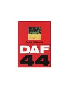 1973 DAF 44 BESTEL-STATIONCAR BROCHURE NEDERLANDS