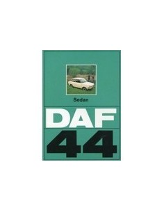 1973 DAF 44 SEDAN BROCHURE NEDERLANDS