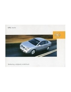 2003 OPEL VECTRA INSTRUCTIEBOEKJE NEDERLANDS