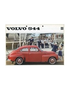 1963 VOLVO 544 BROCHURE NEDERLANDS