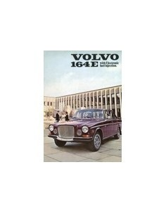 1971 VOLVO 164 E BROCHURE ENGELS USA