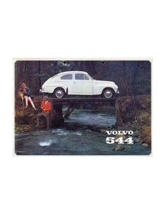 1964 VOLVO 544 BROCHURE NEDERLANDS